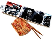 Stitch Holder Point Protector Zipper Pouch Needle Nook - DPN and Circular Project Holder -  Walking Dead Michonne