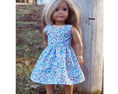 18 inch Dolls Clothes - Girl Doll Clothes Summer Dress Classical Design