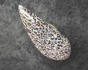 Gembone dinosaur bone freeform dino bone cabochon