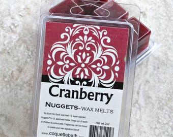 Cranberry wax melts, Strong paraffin wax tarts, wax melts, Fruit scented wax melts, Nuggets