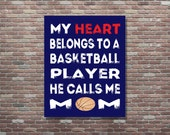 Basketball Mom, Basketball Mom Art, Basketball Mom Gifts, Gifts For Moms,Basketball,INSTANT DOWNLOAD, Basketball Theme Art, Sports Mom Gifts