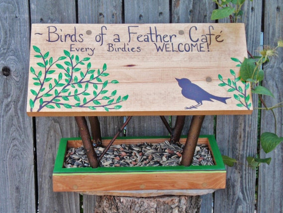 Bird feeder covered bridge style persnickety bird feeder for Persnickety home designs
