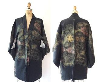 vintage kimono haori / vintage kimono robe / New Bloom Kimono