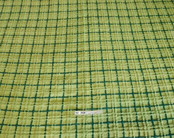 """one pieces vintage Chenille Fabric 50""""x 34"""" (92-POF)"""