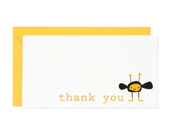 Bumble Bee Thank You Enclosure Gift Card