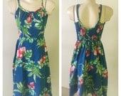 Vintage Waltah Clarke's Hawaiian dress