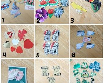 vintage stickers,vintage theme Scrapbook stickers,St-Patrick stickers,birthday,dogs,valentine,graduation,baby,flowers,birds,umbrellas,