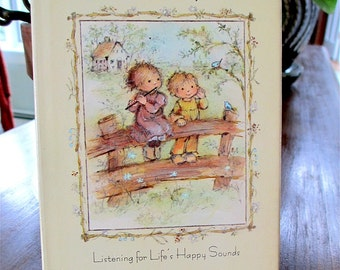 Music  Is Everywhere Children's Book Listening for LIfe's Happy Sounds 1974 Barbara Kunz Loots Drawings Hallmark Edition. Music. Childhood.