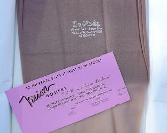 Vintage Tide of Fashion Nylons  Hosiery  Stockings 3 pair
