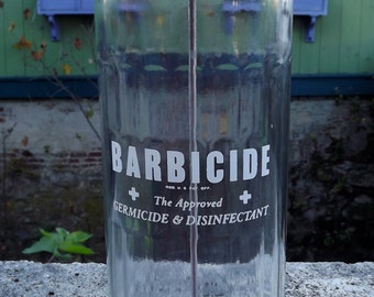 Mid Century Kings Barbicide Barber Shop Comb Sanitizer