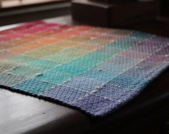 Rainbow Doll Blanket