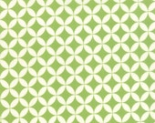 WINTER SALE - 1 7/8 Yards Hello Darling - Orange Peel in Green (55111-25) - Bonnie and Camille for Moda Fabrics
