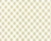 CHRISTMAS IN JULY Sale - 3 Wideback Yards - 108 wide - Vintage Picnic - Plaid in Gray - Sku 11111-15 - Bonnie and Camille for Moda Fabrics