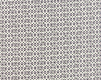 SUMMER SALE - Varsity - 1 1/2 yard - Kickoff in Concrete Gray (5593 16) - Sweetwater for Moda Fabric