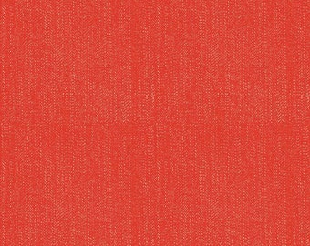 SPRING SALE - 4 yards - Lucky Star - C4835-Denim in Red - Zoe Pearn for Riley Blake Designs
