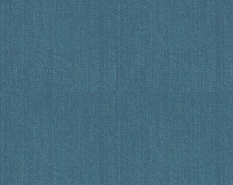 FALL SALE - Lucky Star - 1 yard - C4835-Denim in Navy - Zoe Pearn for Riley Blake Designs