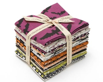 SALE - Fat Quarter Bundle - (21) - Lost & Found Halloween - FQ-5120-21 - Jen Allyson - Riley Blake Designs - My Mind's Eye