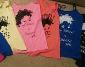 "Custom order for Miesha ""My Natural is Beautiful"" T-Shirt"