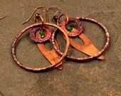 Tribal Jewelry, Gypsy Jewelry, Copper Jewelry, Gift