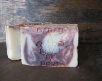 Sandalwood Vanilla Shea Butter Bar Soap - Vegan Soaps