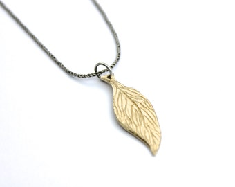 gold feather necklace . inspirational wild and free feather necklace . gold and sterling silver talisman layering necklace . ready to ship