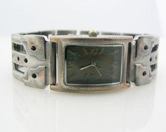 Men's Watch Antique blue Dial