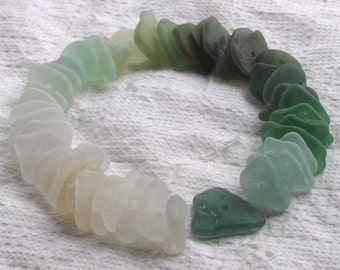 45 Sea Glass Sequins Centre Drilled 1.5mm holes Imperfections Supplies (1839)