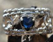 Swarovski Crystal Filigree Ring