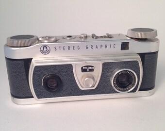 Stereo Camera Graflex Stereo Graphic 35mm