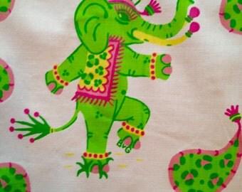"Elephants on Parade - Fabric 50"""