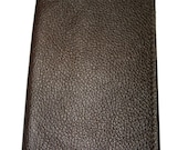 20% OFF Chocolate Brown Leather Passport Cover - SANDALI ACCESSORIES