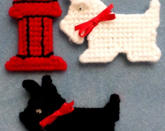 Scottie Trio Magnet Set