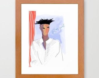 Jean-Michel Basquiat - Original Poster Art