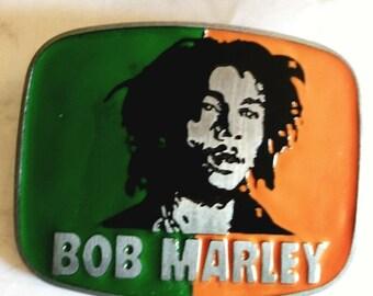 2 DAY SALE Bob Marley Enameled Belt Bucklae