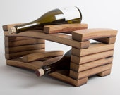 Napa Barrel Stave 6-Bottle Wine Rack