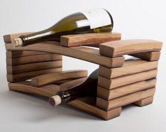 Napa Barrel 6 Bottle Wine Rack