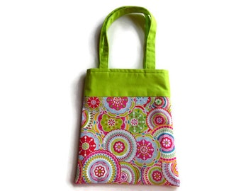 Fabric Flower Gift Bags - Flowers