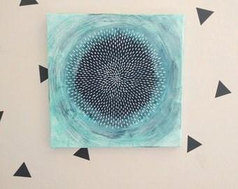 Burst #2 - Original Painting 12x12 inches