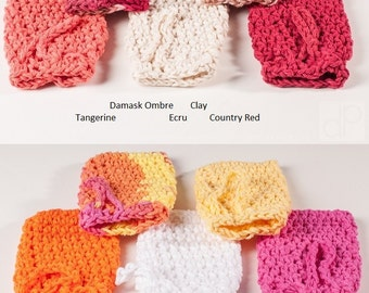 Crochet Soap Saver by Sam, Soap Bag, USA Grown Cotton, You Choose Color, US Shipping Included, All Available Colors