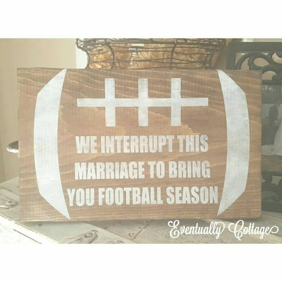 Rustic Man Cave Sign : Items similar to football sign man cave rustic