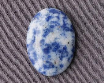 Blue Spot Jasper Stone Cabochon