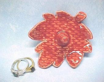 Ring Holder, Ruby Red, Ready to Ship