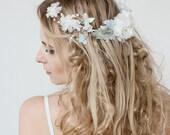Mint Frost Bridal Hair Comb