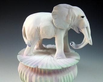 White Elephant Totem Box