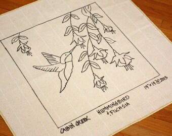Garden Rabbit Rug Hooking Pattern Monk S Cloth By Cabincreek