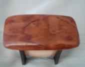handmade mini box from recycled Rengos