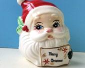 Santa Napkin Holder, Josef Originals