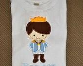 Prince Charming Boys Birthday Shirt, Boys Disney Shirt,  Boys MickeyShirt