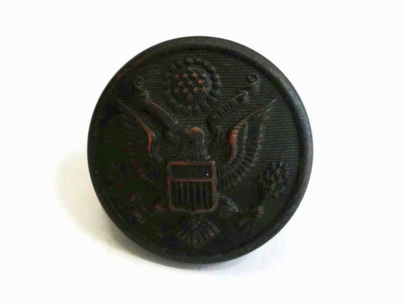 Antique Us Army Uniform Button Vintage 1800s To Early 1900s