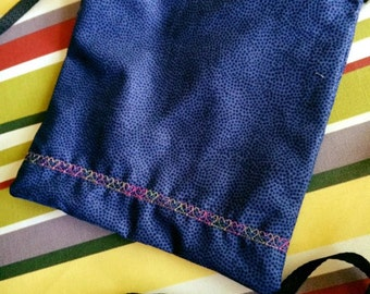 Blue, Rainbows, Crossbody Bag, zippered bag, hearts
